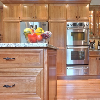 stained-cabinets